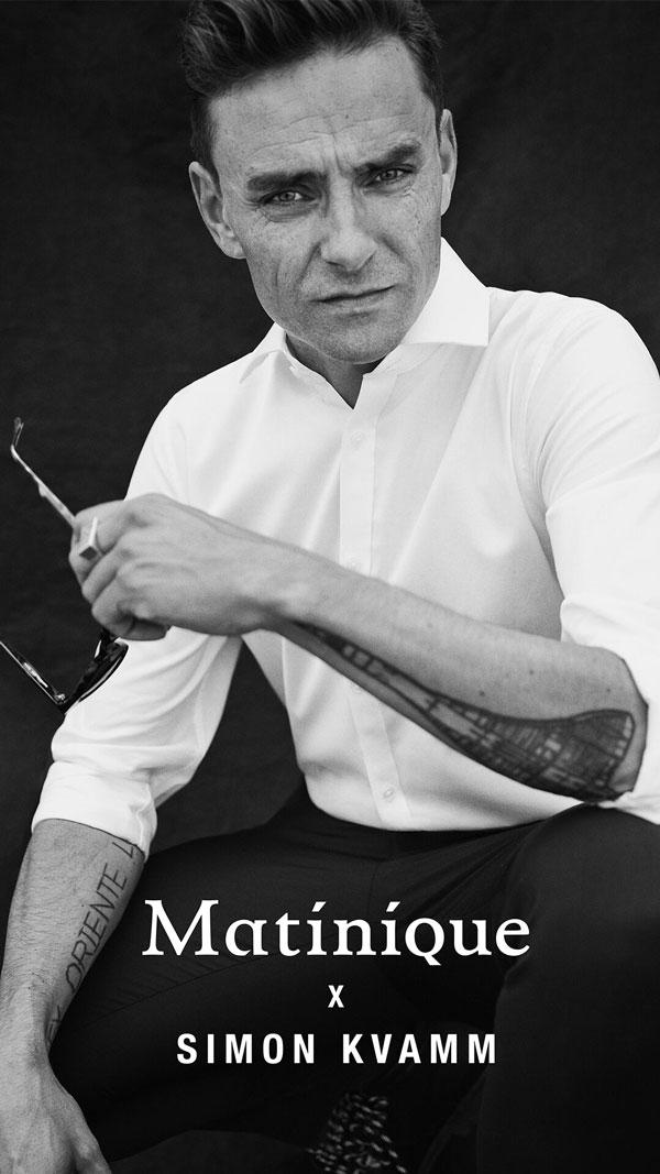 Simon Kvamm og Matinique - skjorter