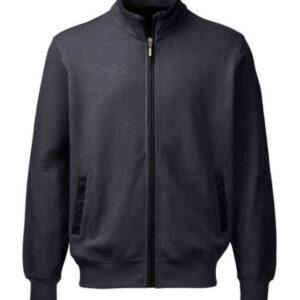 Belika Sweattrøje i grå m. lynlås