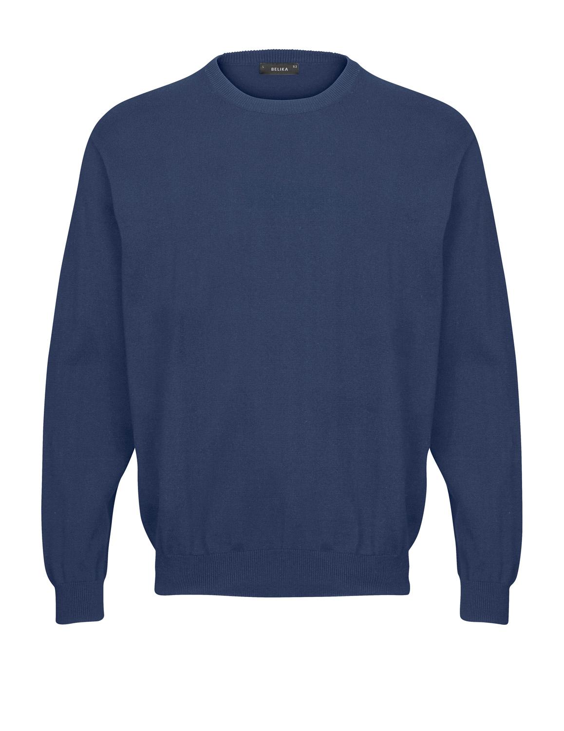 Belika Pullover - Rund hals - Blå