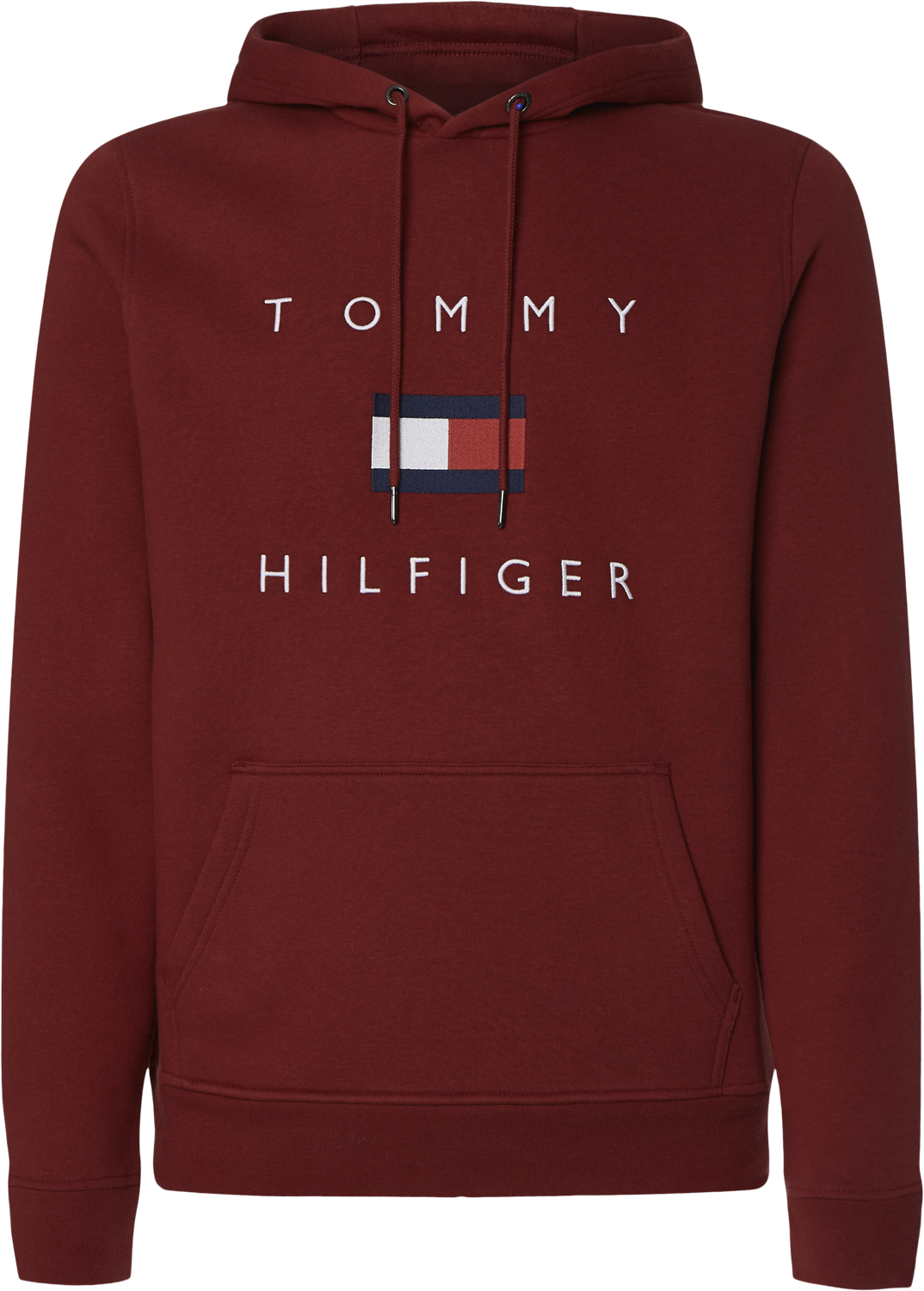 Tommy Hilfiger Flag Hoodie - Regatta Red