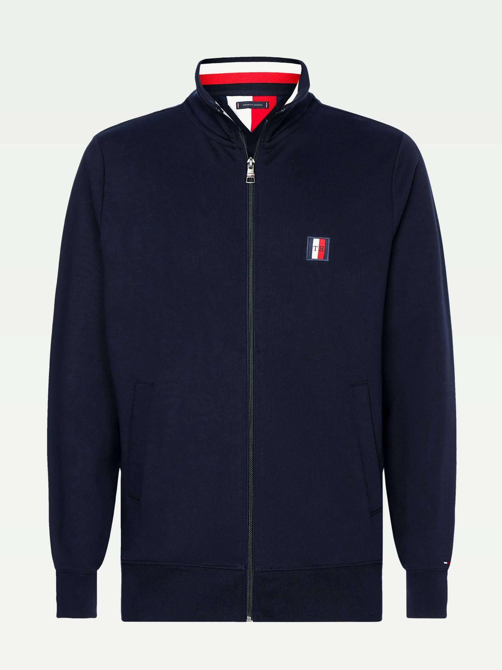 Tommy Hilfiger Global Stripe Zip Th